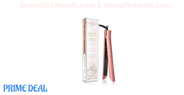 50%OFF  ALMOST FAMOUS Professional Hair Straightener Flat Iron Pro for Hair Styling