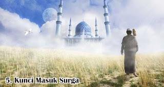 Kunci Masuk Surga merupakan salah satu manfaat dan keutamaan silaturahmi saat idul fitri