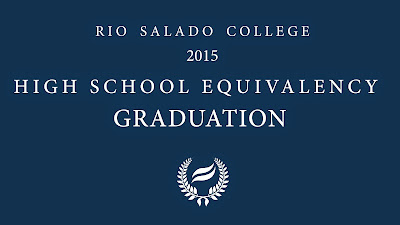 Program cover for Rio Salado College 2015 HSE Graduation