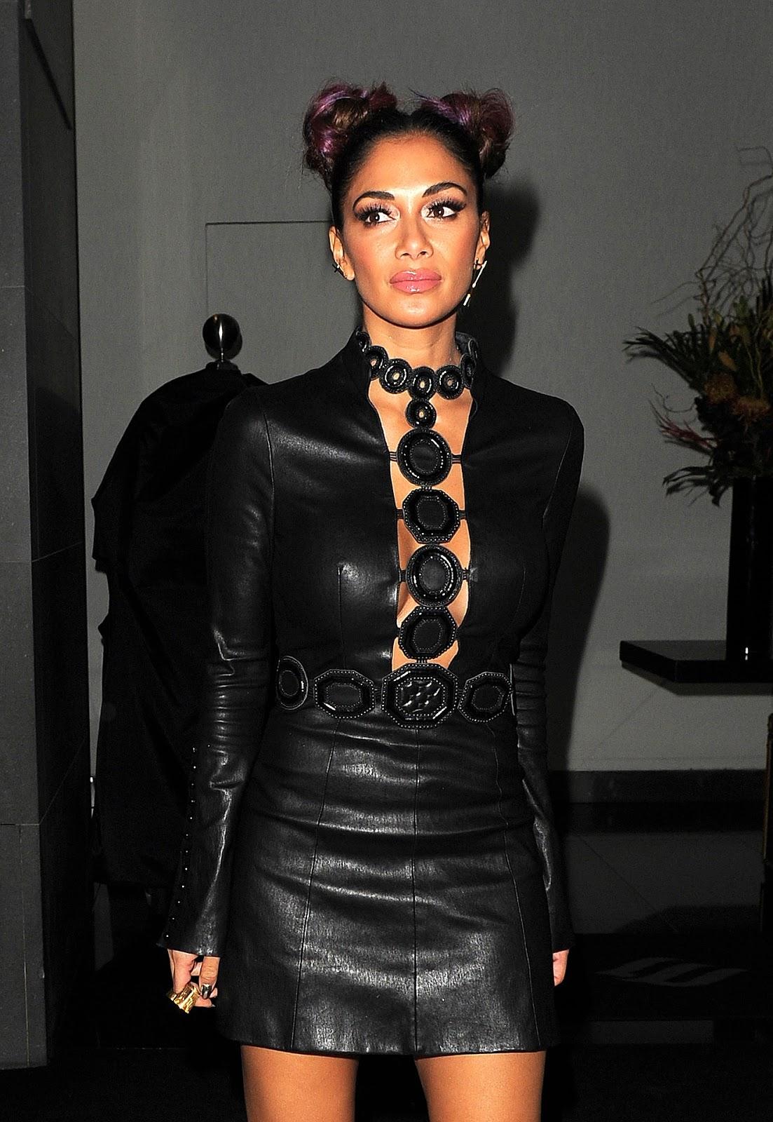 Lovely Ladies in Leather: Nicole Scherzinger in a leather ... Nicole Scherzinger