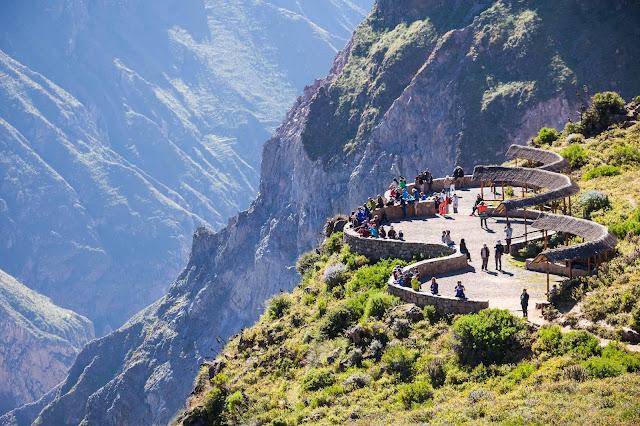 Cañon del Colca Colca Canyon Mirador del Condor