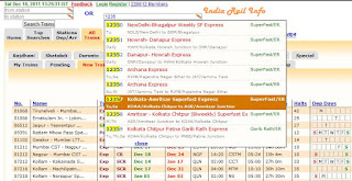 India Rail Info Train Checking