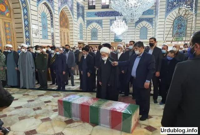 Dr. Mohsen Fakhrizadeh Mahabadi funerals