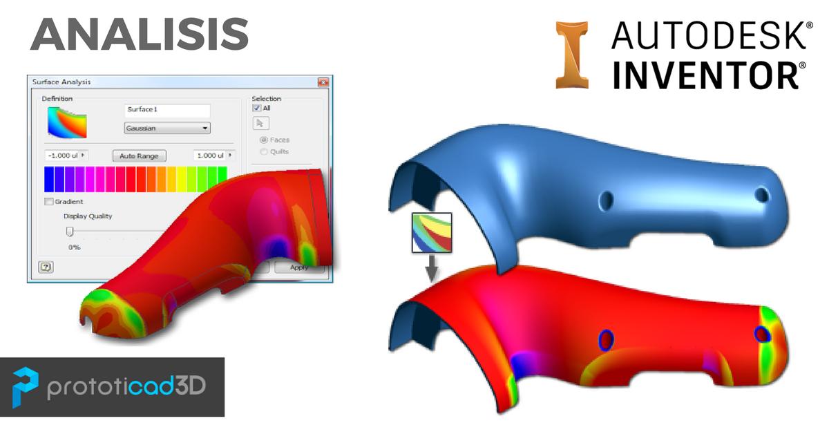 Acerca del análisis de piezas en Inventor
