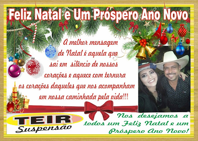 Teir Suspensão deseja a todos um Feliz Natal e um Feliz 2019
