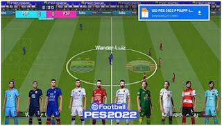 Download PES 2022 PPSSPP Liga 1 Indonesia & Eropa Update Transfer Juni