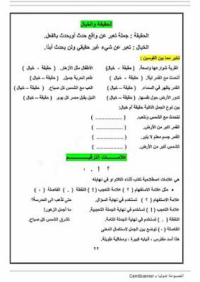 مذكرة اساليب وتراكيب للصف الثانى الابتدائى الترم الاول 2020 للاستاذ محمد عوض