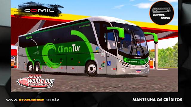 COMIL 1200 6X2 - VIAÇÃO CLIMA TUR