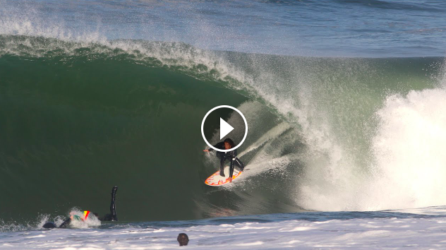 The Art of Surfing Barrels
