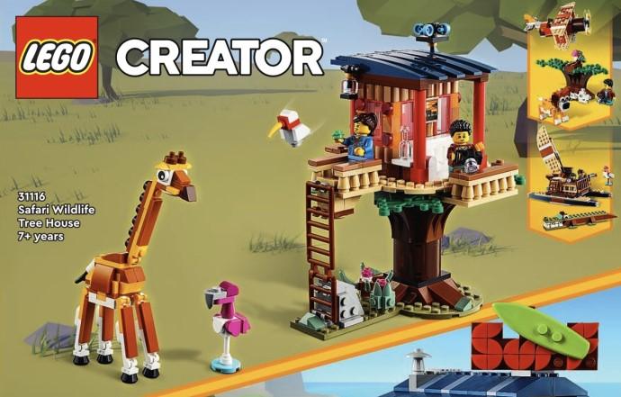 レゴクリエイター2021年新製品情報:3 in 1の作り替えが楽しめる定番!ライオンやドローンが登場