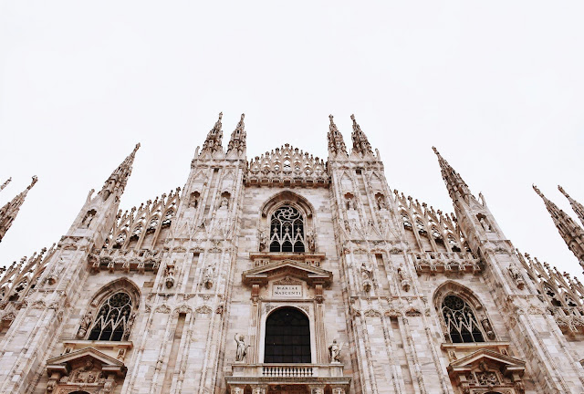 Duomo in Daylight - Milan, Italy | Photo by Daryan Shamkhali via Unsplash