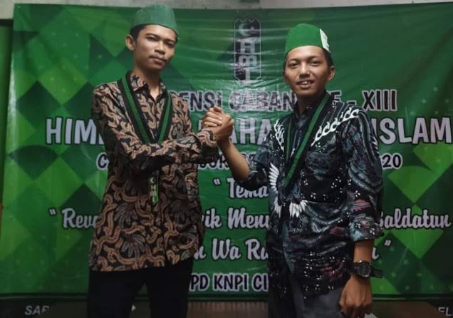 Konfercab HMI Cabang Cianjur Ke XIII, Edwin Nursalam Terpilih Sebagai Ketua Umum