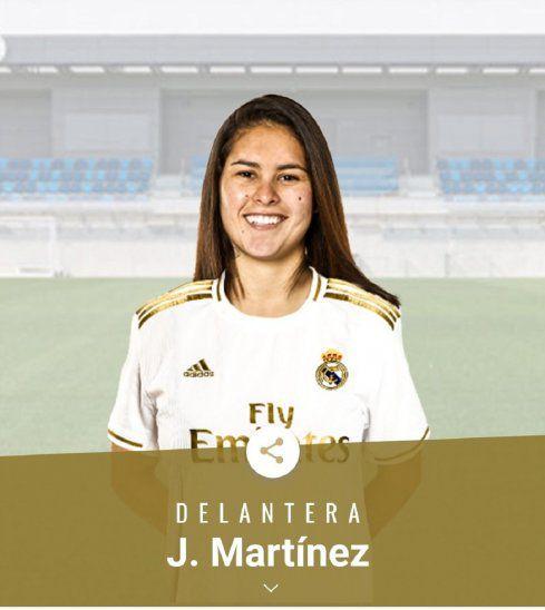 Futbolista paraguaya nueva estrella del Real Madrid
