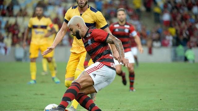 Flamengo vence o Madureira e garante a vaga na semifinal da Taça Guanabara