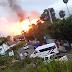 Dos personas muertas y varios heridos en explosión de envasadora de gas en Licey Al Medio.