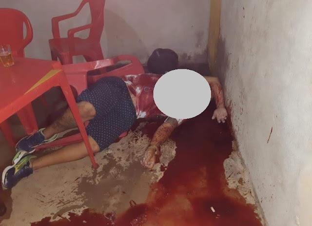 Homem é executado com um tiro enquanto ingeria bebida alcoólica em bar