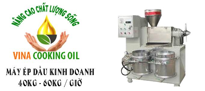 máy ép dầu lạc công suất 40 đến 60 kg 1 giờ