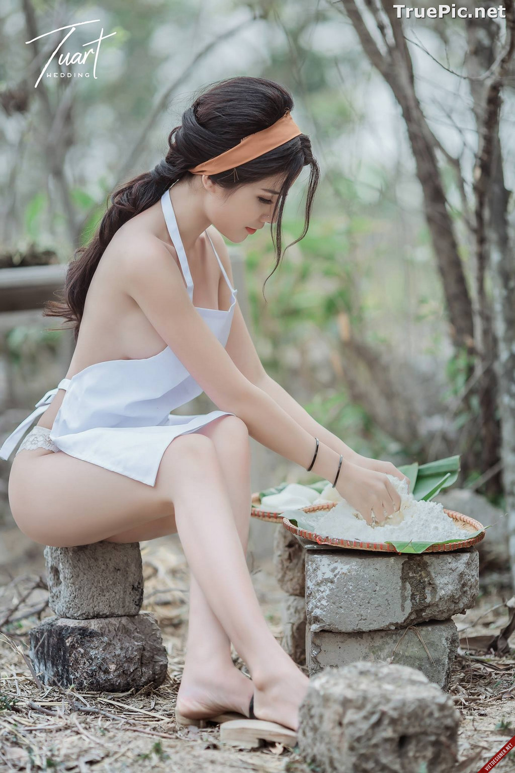 Image Vietnamese Hot Model - Two Sexy Girl In The Valley - TruePic.net - Picture-2