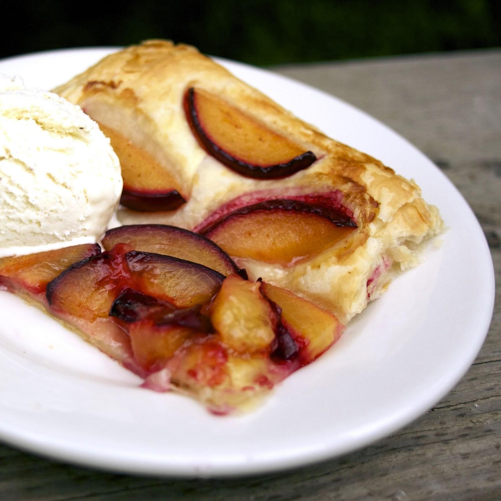 spicy honey cinnamon plum tart henry s humdingers foodie friday rh simplelivingeating com