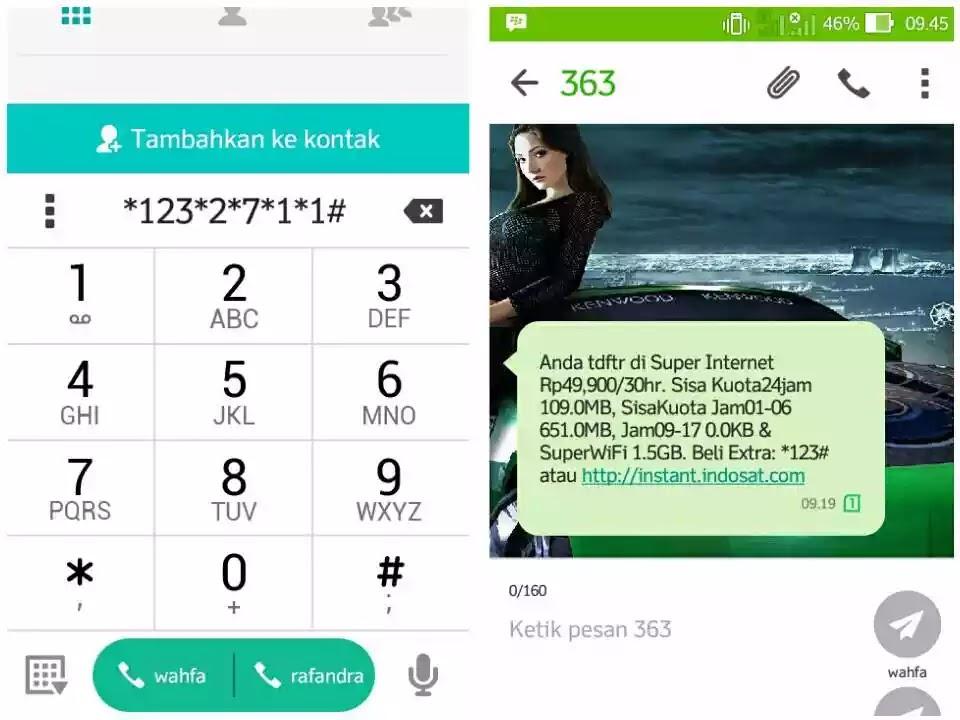 Cara Cek Kuota Internet Indosat Im3 Ooredoo 2016 Kacung Gadget