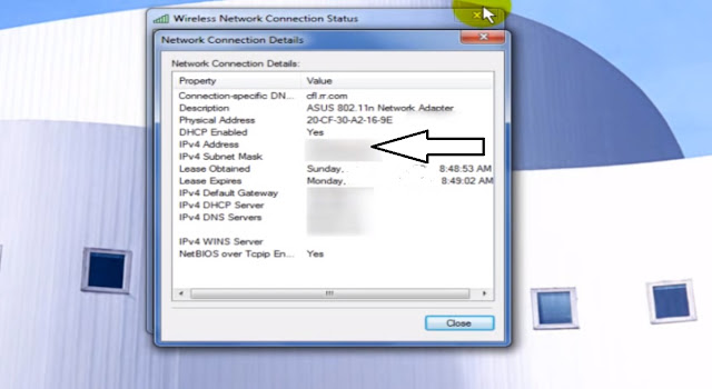 How to find IP address of a computer