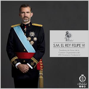 S.M. el Rey D. Felipe VI, Presidente de Honor de la Comisión Organizadora del 450 Aniversario Fundacional de la Soledad de Arcos