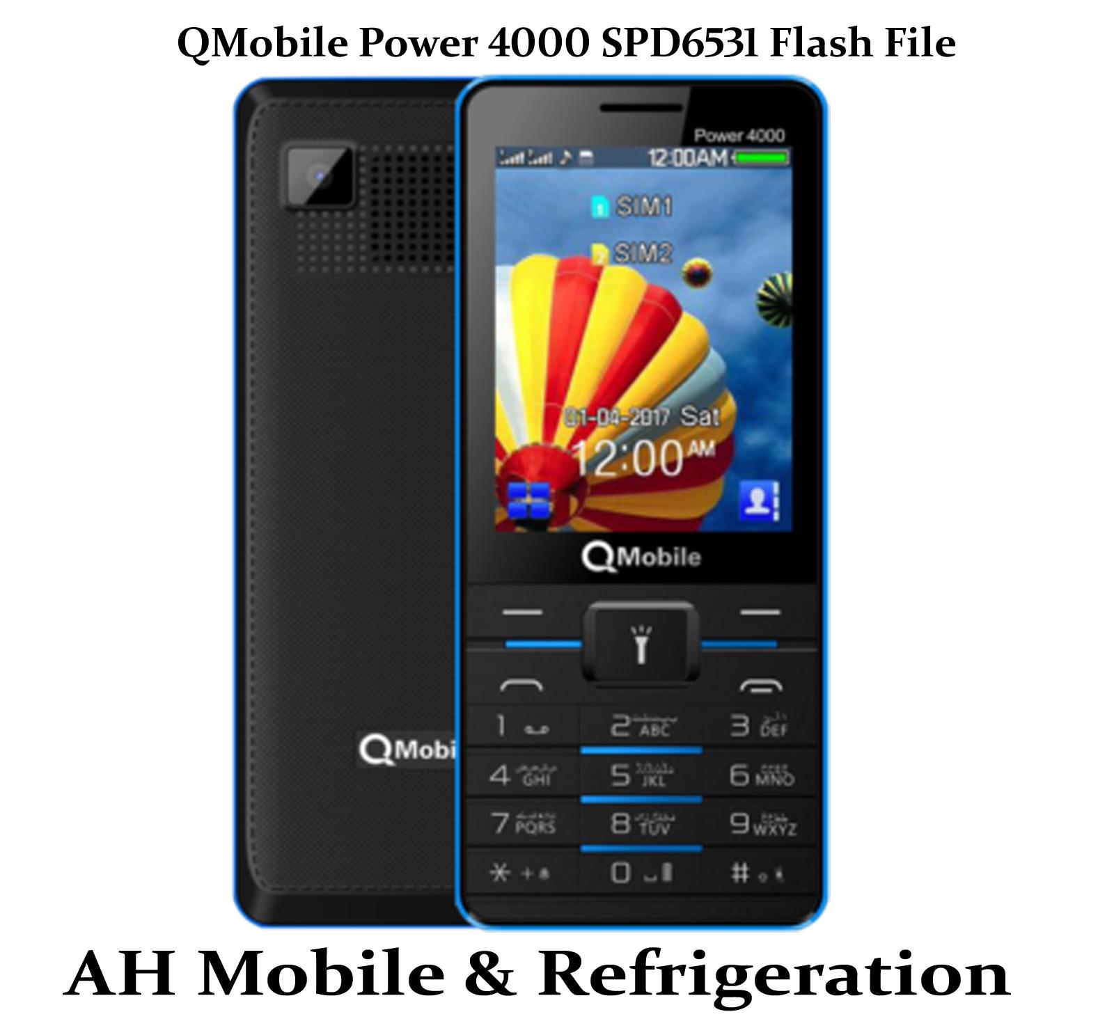 QMobile ATV1 Flash File Download Free 100% Working ATV1