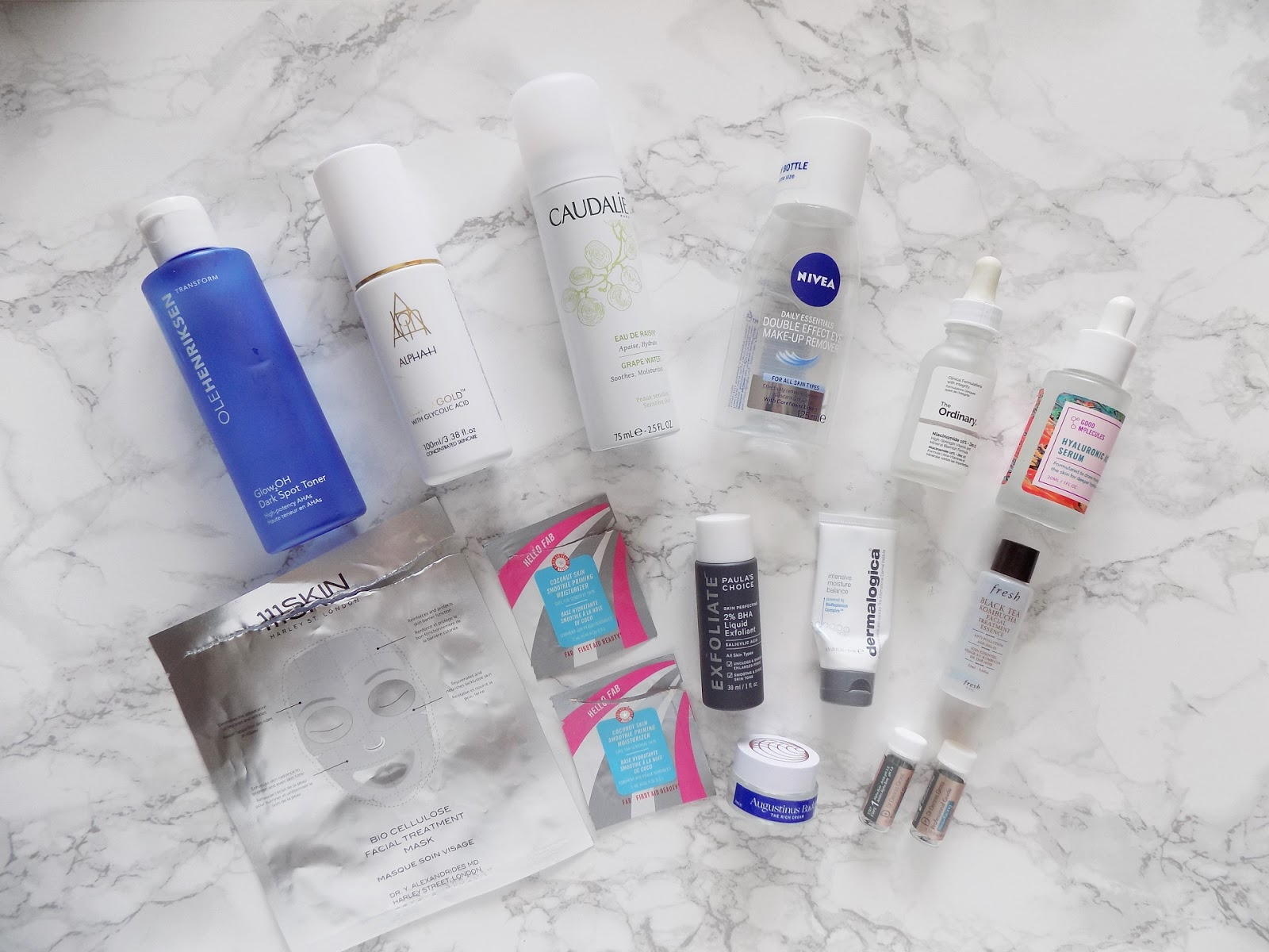 skincare empties reviews alpha h ole henriksen Paulas choice