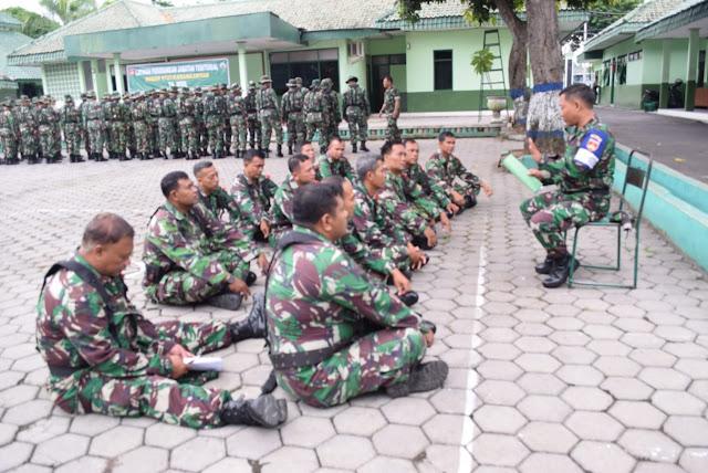 KodimKaranganyar - Tingkatkan Kesiapan Prajurit Kowil Kodim 0727/Karanganyar Gelar Latorjab Teritorial Dan Intelijen