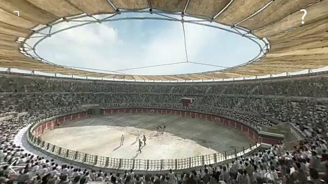 Simulació digital de l'amfiteatre