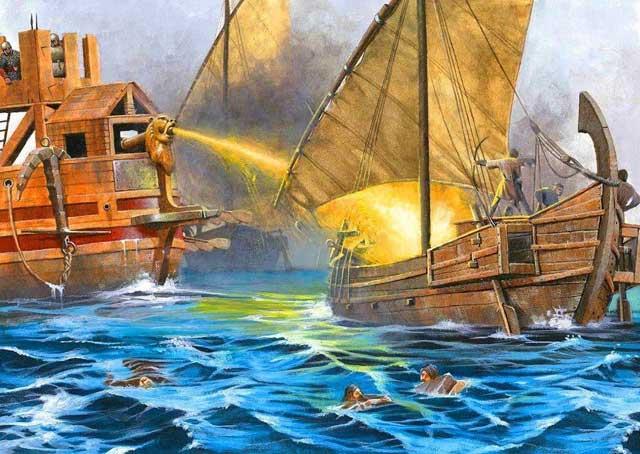 Kapal yang Menyemburkan Api Abadi