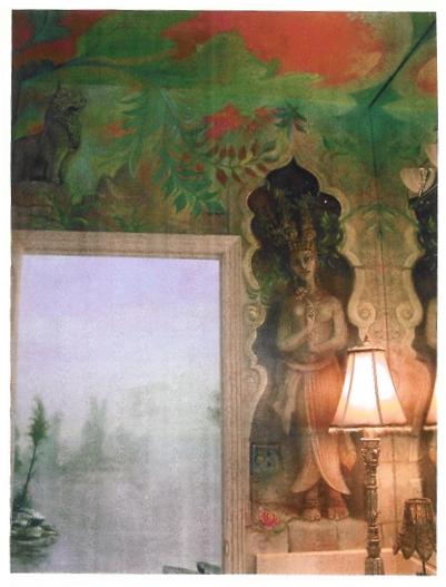 Semprevivo Murals (Detail). Artist: William Girard