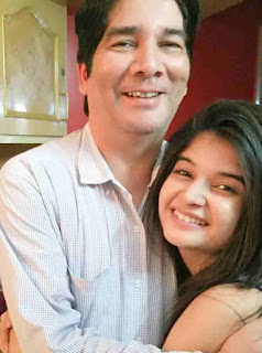 Bhavika Sharma With His Father