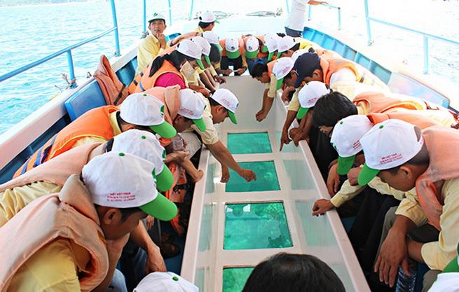 Lịch trình Tour tham quan 4 đảo Nha Trang