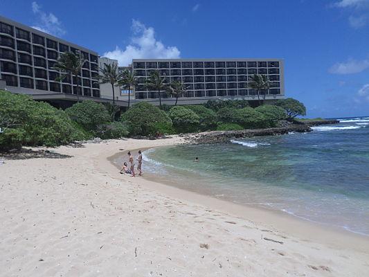 turtle bay praia havai