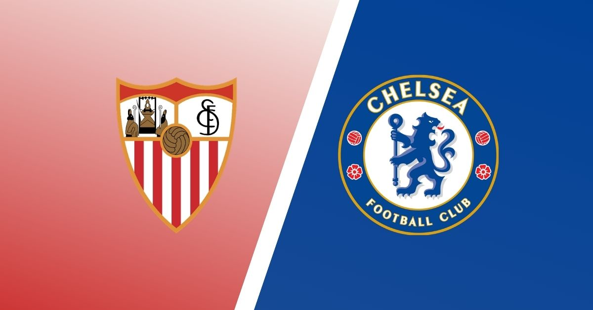 Which channel does Sevilla vs. Chelsea for the Champions League