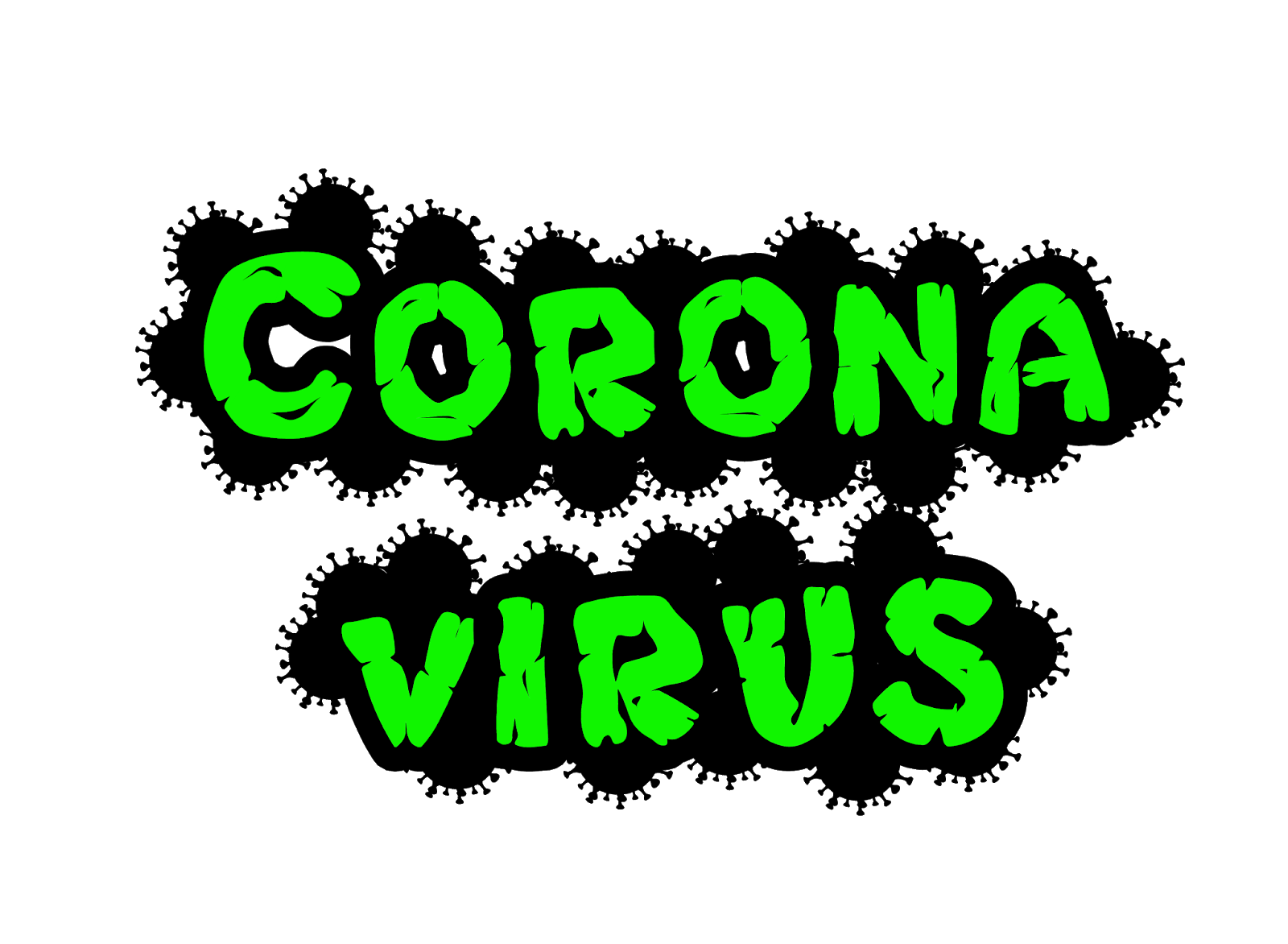 illustrations of virus coronavirus sars-cov-2