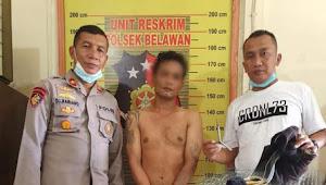 1 Dari 4 Pelaku Pencurian Dengan Kekerasan Dalam Angkot Berhasil Ditangkap Polsek Belawan