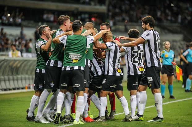Meia está fora de ação por lesão (Foto: Divulgação / Atlético-MG)