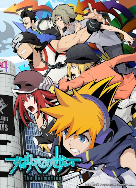 The World Ends With You Reveals Anime Release Date Through New PV