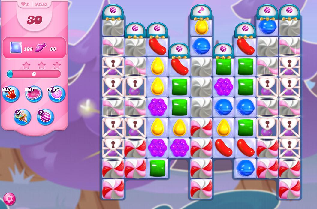 Candy Crush Saga level 9236
