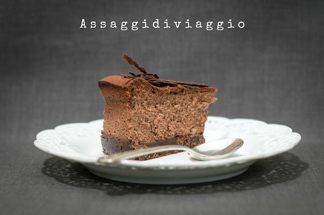 New York Cheesecake al doppio cioccolato