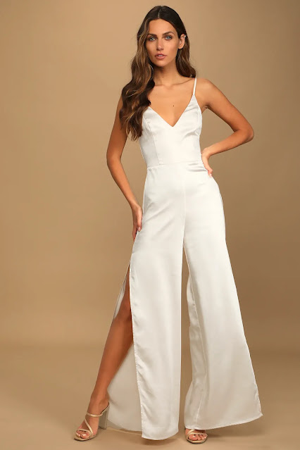 Champagne-Satin-wide-leg-jumpsuit-wedding-fashion-brides-to-be-Lulus.com-KMich Weddings and Events-Philadelphia-PA
