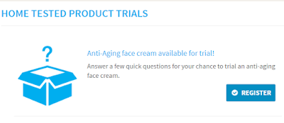 Brand Power Product Testing Offer- Anti-Aging Face Cream