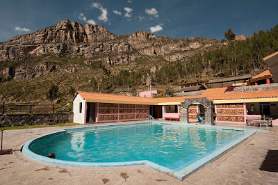 thermal waters of La Calera, Colca Canyon, Arequipa