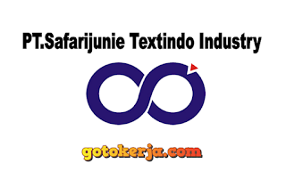 Loker PT.Safarijunie Textindo Industry