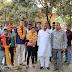 आदित्य दुबे व तेजस्विनी सिंह के गृह आगमन पर क्षेत्रीय लोगों ने किया भव्य स्वागत व सम्मान