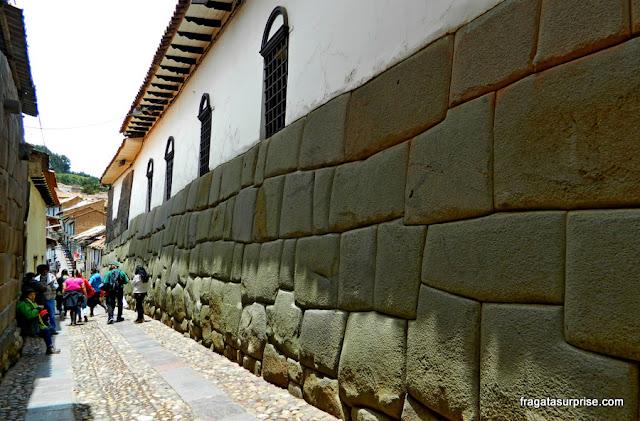 Paredes incas em Cusco