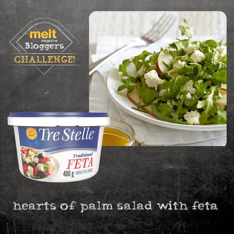 Hearts of Palm Salad with Feta