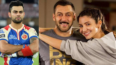 Virat Kohli was angry because of this talk of Salman, so he didn't even invite him to the wedding ...
